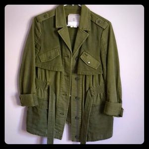 Anthropologie HEI HEI brand military style jacket